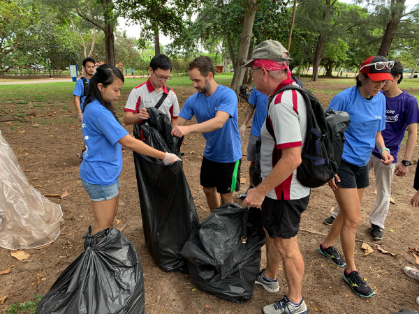 SEAS Members Beach Clean Up - 23 Nov 2019