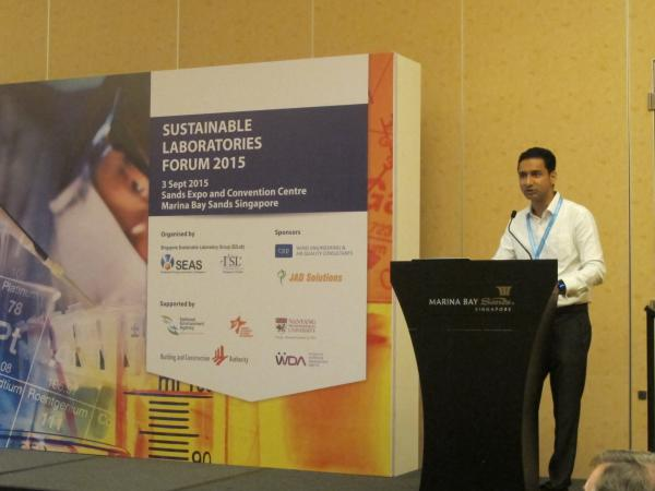 Sustainable Laboratories Forum 2015 - 3 Sept 2015