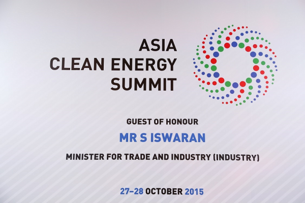 Asia Clean Energy Summit - 27 & 28 Oct 2015